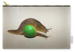 Slug On The Ball Carry-all Pouch
