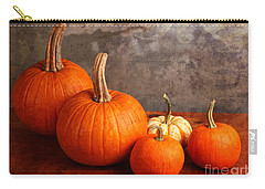Small Decorative Pumpkins Carry-all Pouch