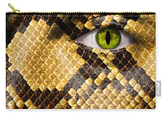 Snake Eye Carry-all Pouch