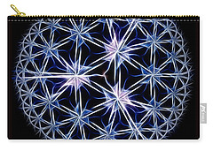 Snowflakes Carry-all Pouch by Danuta Bennett
