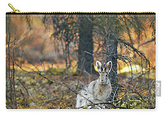Snowshoe Hare Carry-all Pouch