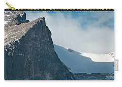 Carry-all Pouch featuring the photograph Snowy Flatirons by Colleen Coccia