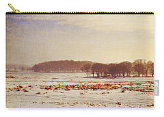 Snowy Landscape Carry-all Pouch by Lyn Randle