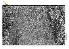 Snowy Path Carry-all Pouch by Linsey Williams