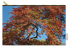 Carry-all Pouch featuring the photograph Soaring Fall by Joseph Yarbrough