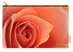Soft Rose Petals Carry-all Pouch