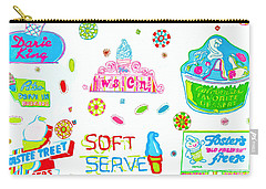 Soft Serve Carry-all Pouch by Beth Saffer