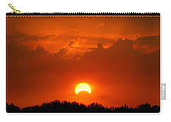 Solar Eclipse Carry-all Pouch by Bill Pevlor