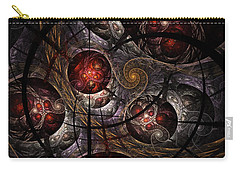 Carry-all Pouch featuring the digital art Soul Of Osiris by NirvanaBlues