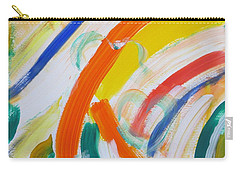 Carry-all Pouch featuring the painting Souls by Sonali Gangane