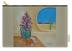 Southwestern 3 Carry-all Pouch by Judith Rhue