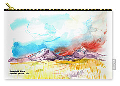 Spanish Peaks Study Carry-all Pouch