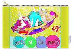 Special Of The Month Carry-all Pouch by Beth Saffer