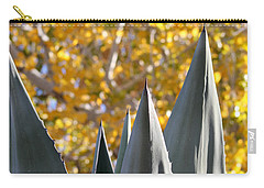 Spikes And Leaves Carry-all Pouch