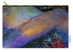 Carry-all Pouch featuring the digital art Spirit's Call by Richard Laeton