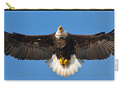 Carry-all Pouch featuring the photograph Spread Eagle by Randall Branham