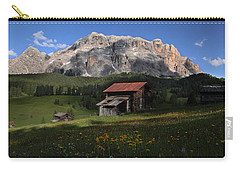 Carry-all Pouch featuring the photograph Spring At Santa Croce by Susan Rovira