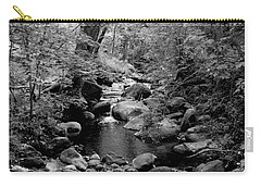 Carry-all Pouch featuring the photograph Spring Creek by Kathleen Grace
