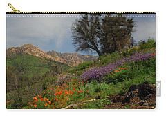 Carry-all Pouch featuring the photograph Spring In Santa Barbara by Lynn Bauer
