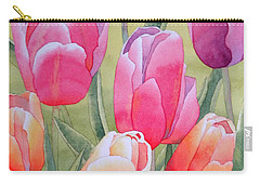 Carry-all Pouch featuring the painting Spring by Laurel Best