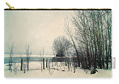Spring Thaw Carry-all Pouch by Leanna Lomanski
