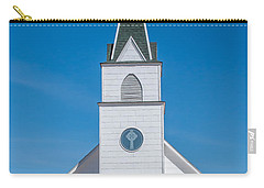 Carry-all Pouch featuring the photograph St. John The Evangelist Catholic Church by Fran Riley