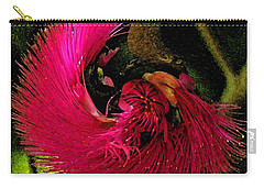 Carry-all Pouch featuring the photograph St Kitts Flora by Cindy Manero