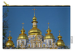 Carry-all Pouch featuring the photograph St. Michael's Cathedral by David Gleeson
