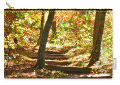 Carry-all Pouch featuring the photograph Stairway To Heaven by Peggy Franz