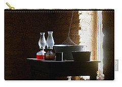 Carry-all Pouch featuring the photograph Standing In The Shadow Of Time by Vicki Pelham