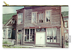 Carry-all Pouch featuring the photograph Stark Bros Store by Bonfire Photography