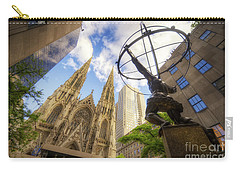 Statue And Spires Carry-all Pouch