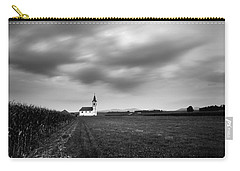 Storm Clouds Gather Over Church Carry-all Pouch