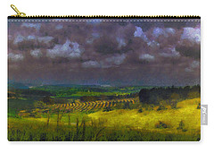 Storm Clouds Over Meadow Carry-all Pouch