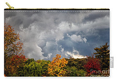 Storms Coming Carry-all Pouch by Ronald Lutz