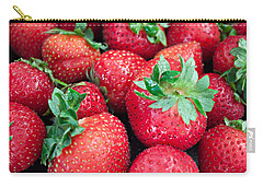 Strawberry Delight Carry-all Pouch by Sherry Hallemeier