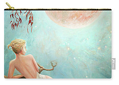 Strawberry Moon Nymph Carry-all Pouch