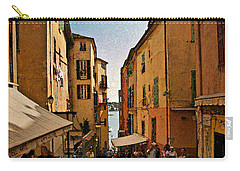Street In Villefranche II Carry-all Pouch