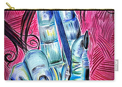 Strokes Of My Soul...  The Life Of An Artist Carry-all Pouch