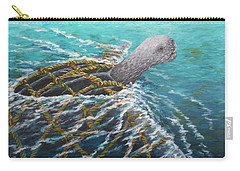 Struggle -leatherback Sea Turtle Carry-all Pouch