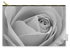 Carry-all Pouch featuring the photograph Study In Black And White by Cindy Manero
