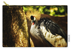 Stunning Peacock Carry-all Pouch