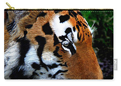 Carry-all Pouch featuring the photograph Sumatran Strength by Davandra Cribbie