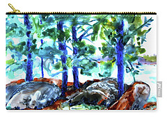 Summer By The Lake Carry-all Pouch