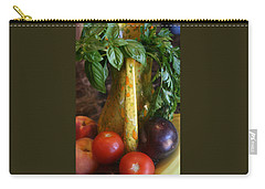 Carry-all Pouch featuring the photograph Summer's Bounty by Kay Novy