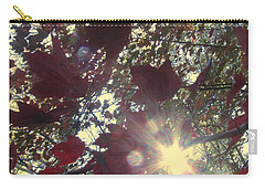 Carry-all Pouch featuring the photograph Sun Shine Through by Donna Brown