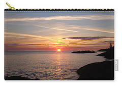 Carry-all Pouch featuring the photograph Sun Up On The Up by Bonfire Photography