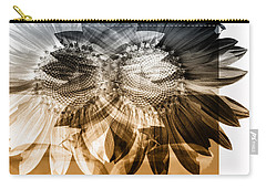 Sunflower Abstract Carry-all Pouch
