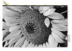 Carry-all Pouch featuring the photograph Sunflower by Dan Wells