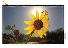 Sunflower Carry-all Pouch by Mistys DesertSerenity